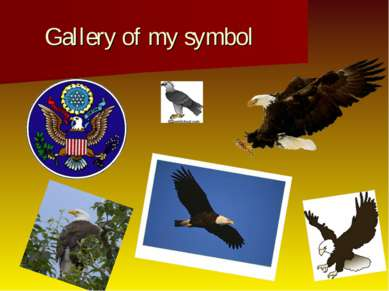 Gallery of my symbol