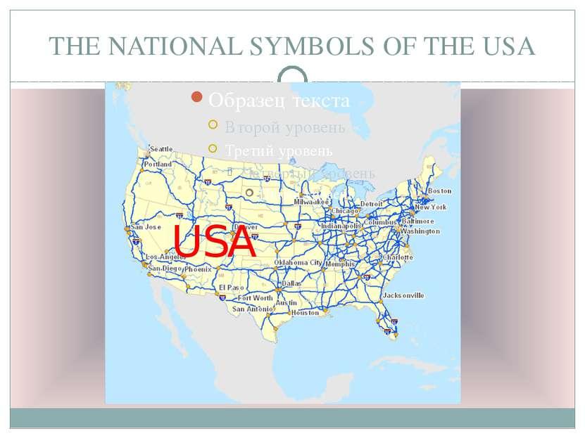 THE NATIONAL SYMBOLS OF THE USA USA