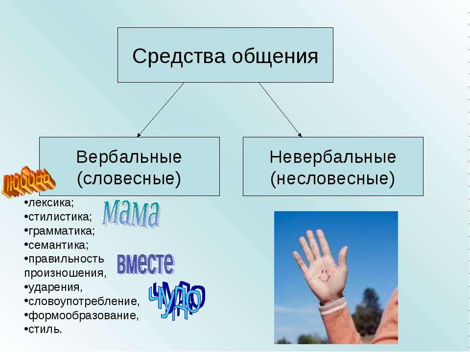 лексика; стилистика; грамматика; семантика; правильность произношения, ударен...