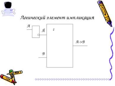 Логический элемент импликация А