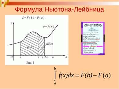 Формула Ньютона-Лейбница