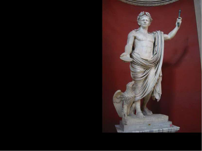 ООктакО ООктакО Октавиан внучатый племянник – Цезаря. Получил образование в Г...