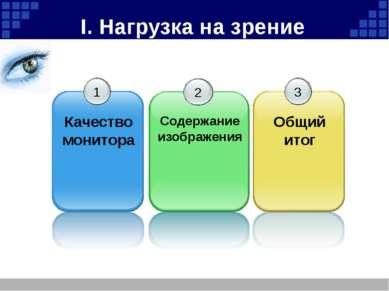 Криворотова Л.Н. КБРCompany Logo 2. Содержание изображения Степень утомляемос...