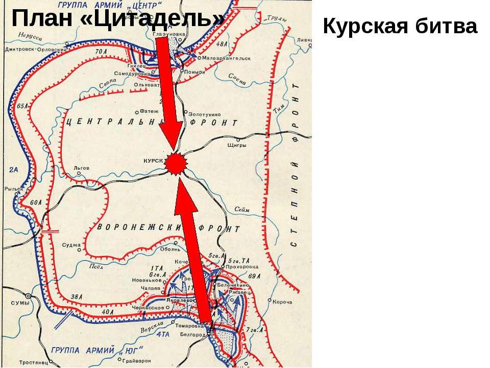 План «Цитадель» Курская битва