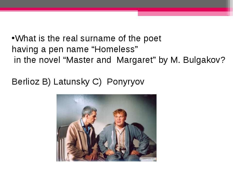 "What is the real surname of the poet having a pen name ""Homeless"" in the nove..."