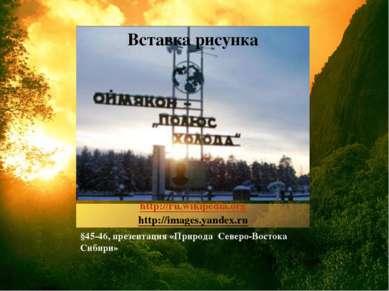 http://ru.wikipedia.org http://images.yandex.ru §45-46, презентация «Природа ...