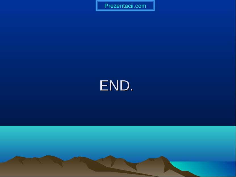 END. Prezentacii.com