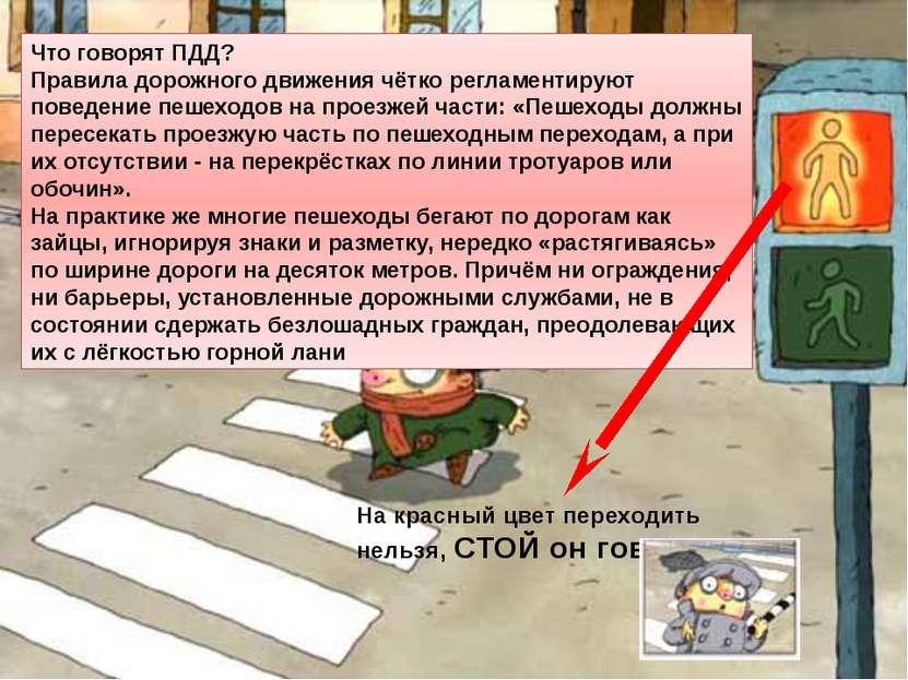 Что говорят ПДД? Правила дорожного движения чётко регламентируют поведение пе...