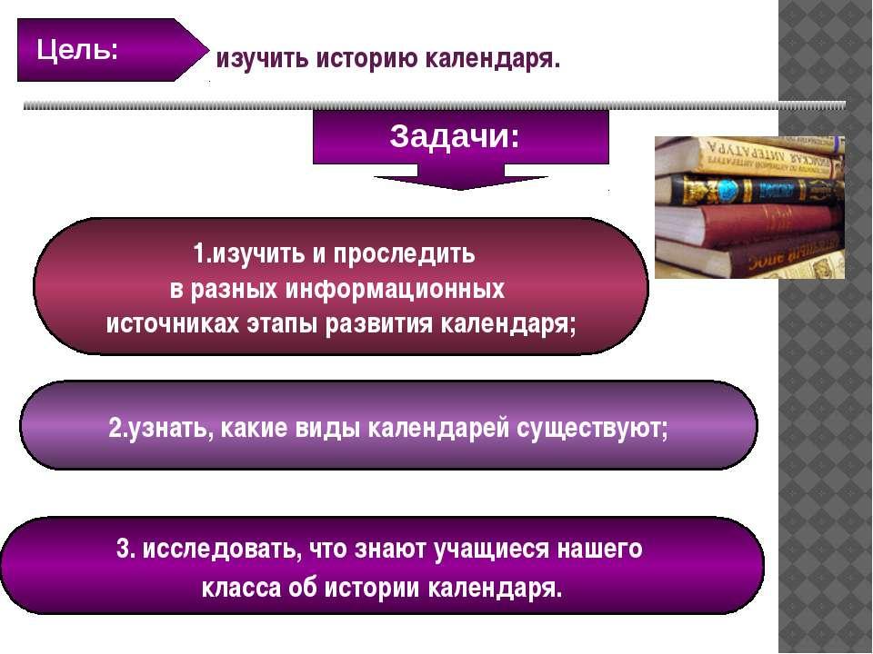 1.изучить и проследить в разных информационных источниках этапы развития кале...