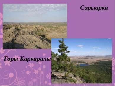 Сарыарка Горы Каркаралы
