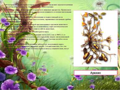 Некоторые виды плесеней в определенных условиях выделяют высокотоксичные прод...
