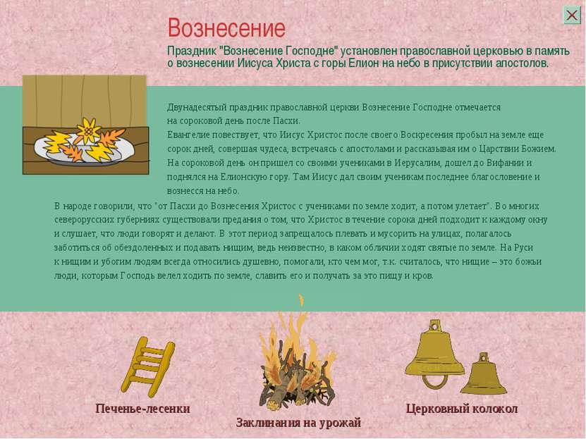 """Праздник """"Вознесение Господне"""" установлен православной церковью в память о во..."""