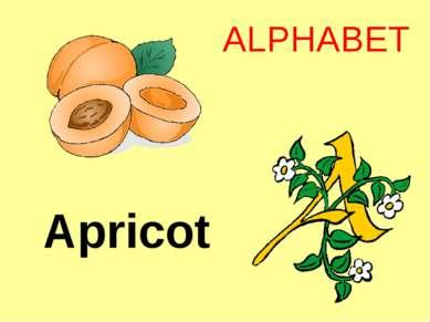 Apricot ALPHABET
