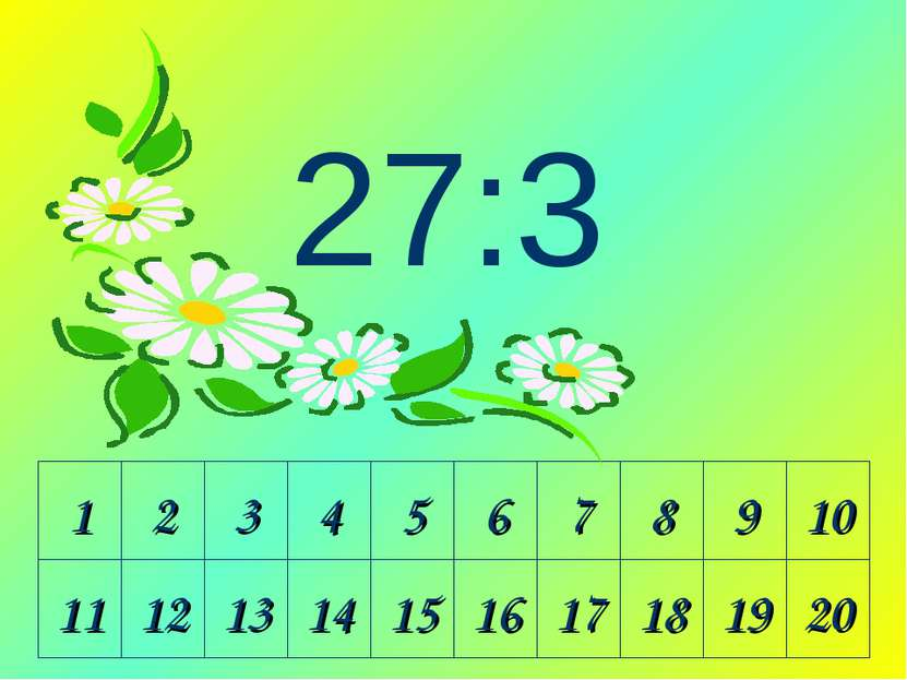 1 2 3 4 5 6 7 8 9 10 11 12 13 14 15 16 17 18 19 20 27:3