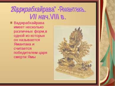 Ваджрабхайрава имеет несколько различных форм,в одной из которых он называетс...
