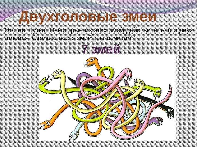 Двухголовые змеи Это не шутка. Некоторые из этих змей действительно о двух го...