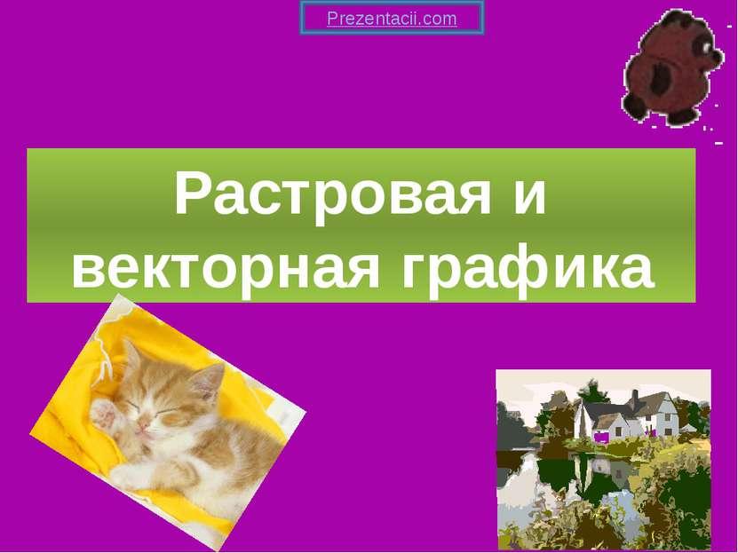 Растровая и векторная графика Prezentacii.com