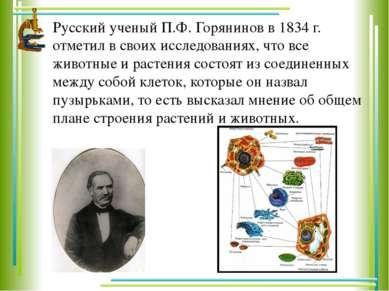 Русский ученый П.Ф. Горянинов в 1834 г. отметил в своих исследованиях, что вс...