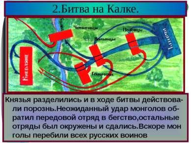 Половцы обратились за помощью к русским князьям.Южнорусские князья объединили...