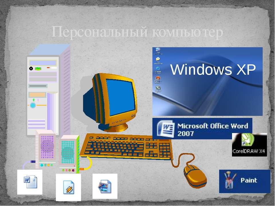 Персональный компьютер Windows XP