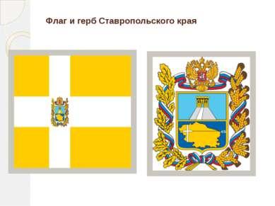 Флаг и герб Ставропольского края