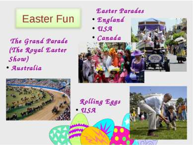Easter Parades England USA Canada Rolling Eggs USA The Grand Parade (The Roya...