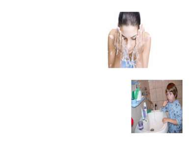 2. Утром умывайся, чисть зубы, мой уши и шею.