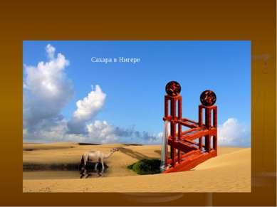 Сахара в Нигере