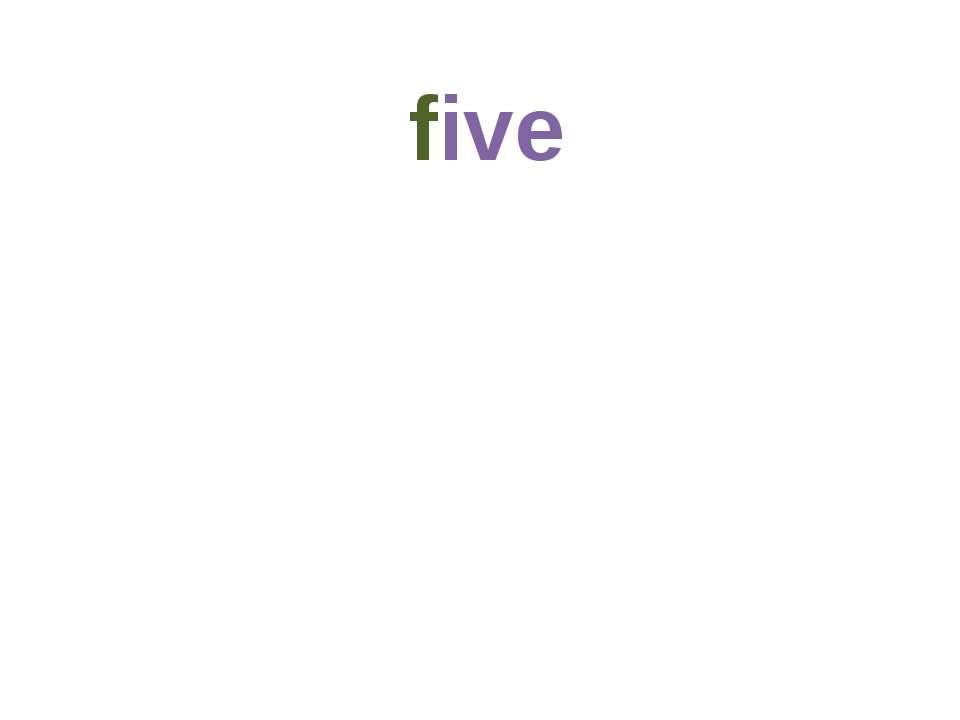 five 5