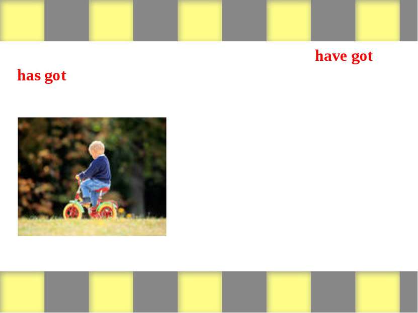 Look at the pictures and write sentences with have got or has got. Then write...