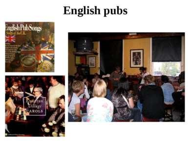 English pubs