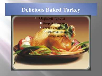 Delicious Baked Turkey
