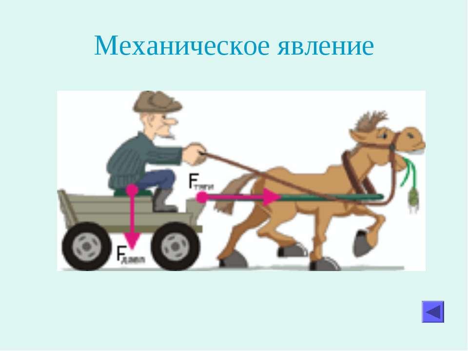 Механическое явление