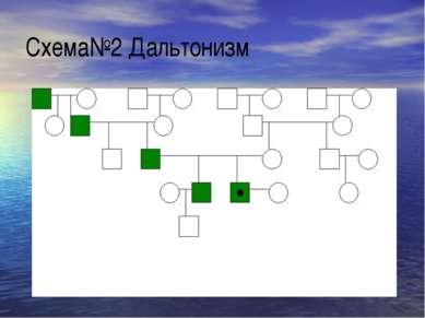 Схема№2 Дальтонизм