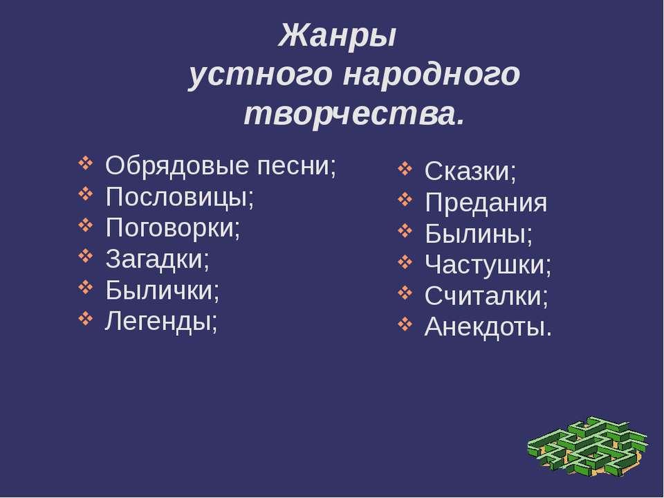Конспект Урока Русские Народные Песни 3 Класс Презентация