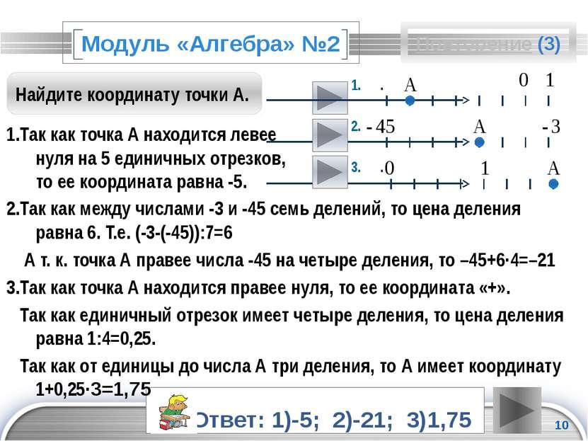 Повторение (подсказка) Произведение двух отрицательных чисел дает положительн...