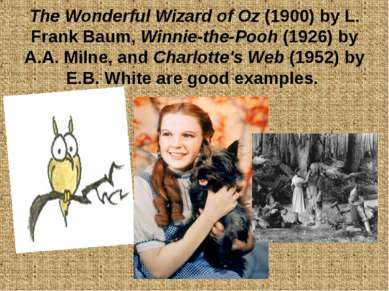 The Wonderful Wizard of Oz (1900) by L. Frank Baum, Winnie-the-Pooh (1926) by...