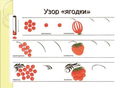 Узор «ягодки»