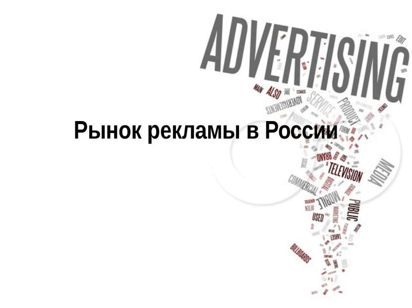 Рынок рекламы в России