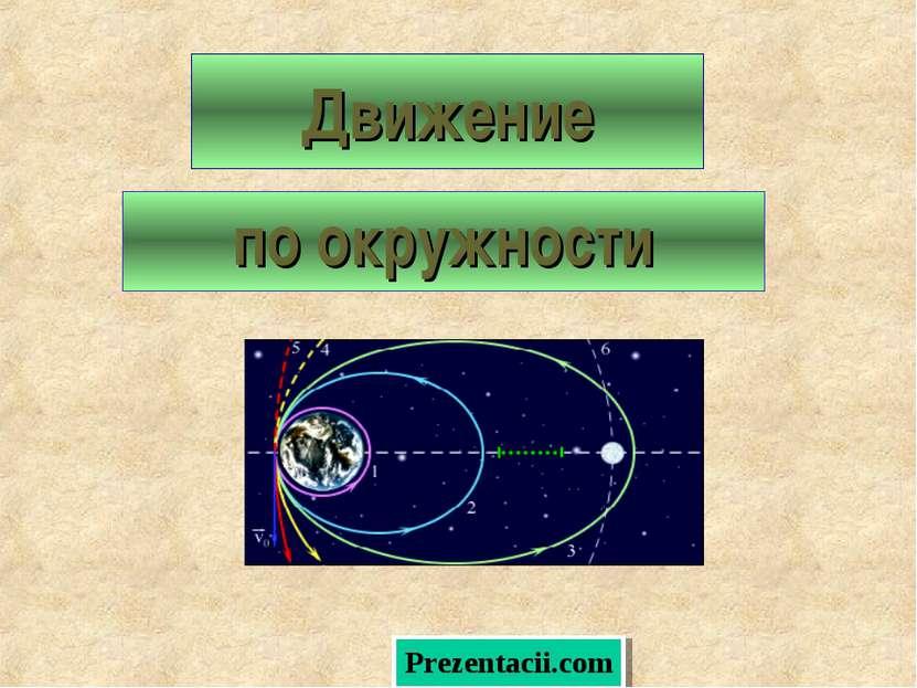 Движение по окружности Prezentacii.com