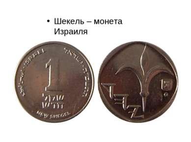 Шекель – монета Израиля