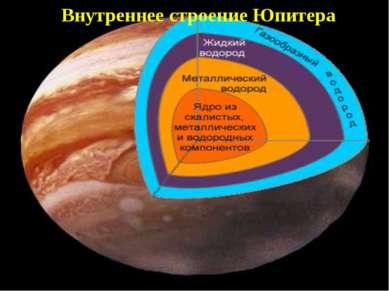 Внутреннее строение Юпитера