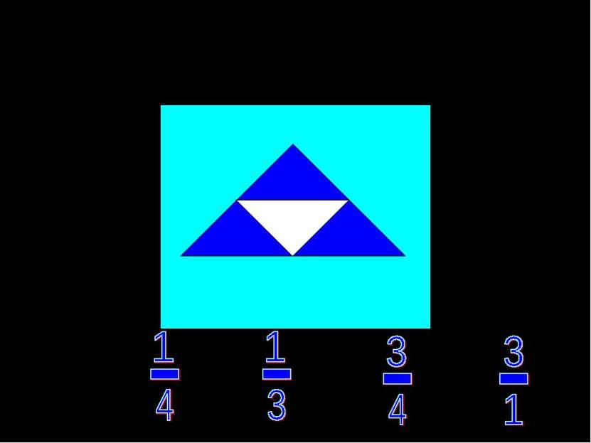 Какая часть фигуры закрашена? а) в) г) л)
