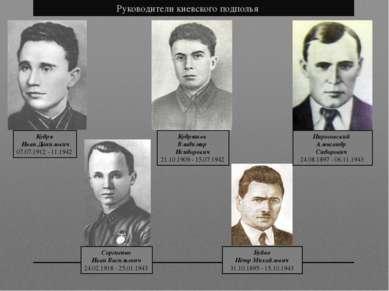 Кудря Иван Данилович 07.07.1912 - 11.1942 Кудряшов Владимир Исидорович 21.1...