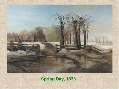 Spring Day, 1873