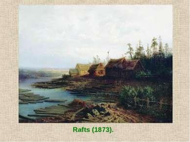 Rafts (1873).