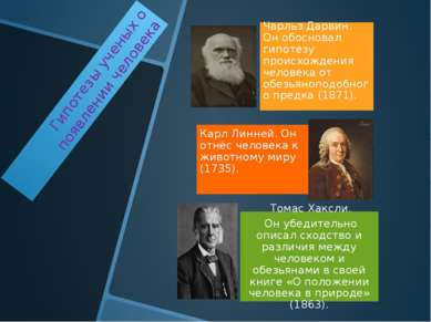 Гипотезы ученых о появлении человека