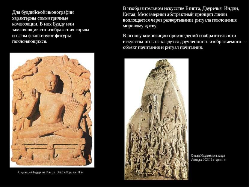 Сидящий Будда из Катре. Эпоха Кушан. II в. В изобразительном искусстве Египта...