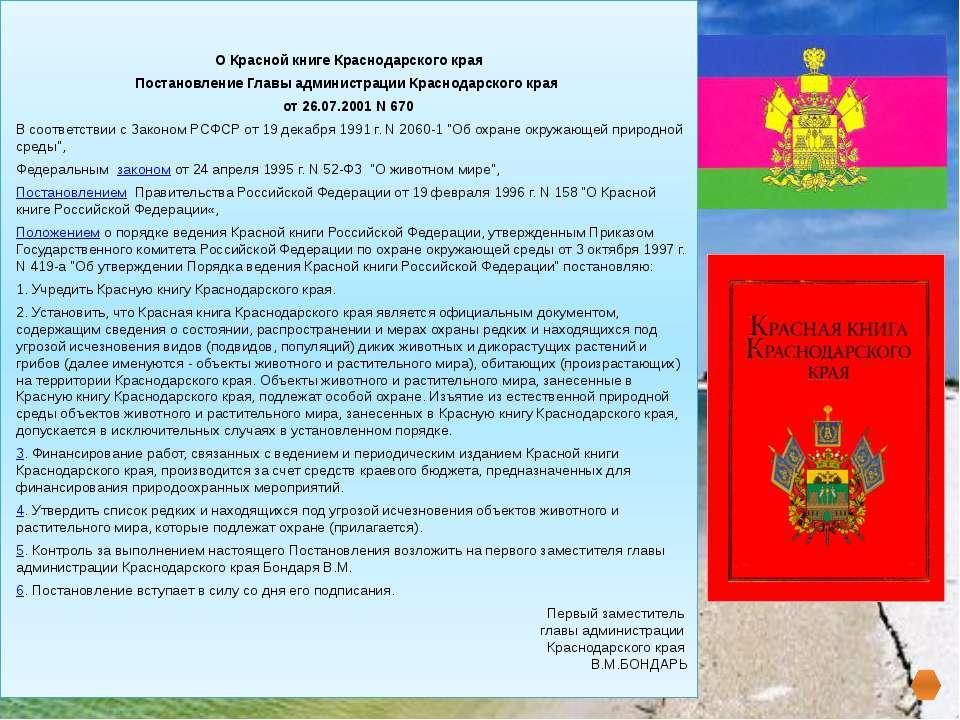 В Красную книгуКраснодарского края вошли: СОДЕРЖАНИЕ МЛЕКОПИТАЮЩИЕ РЫБЫ РАС...