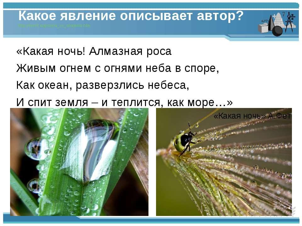 Какое явление описывает автор? http://somit.ru/polnoe_vn_otrajenie.htm «Какая...